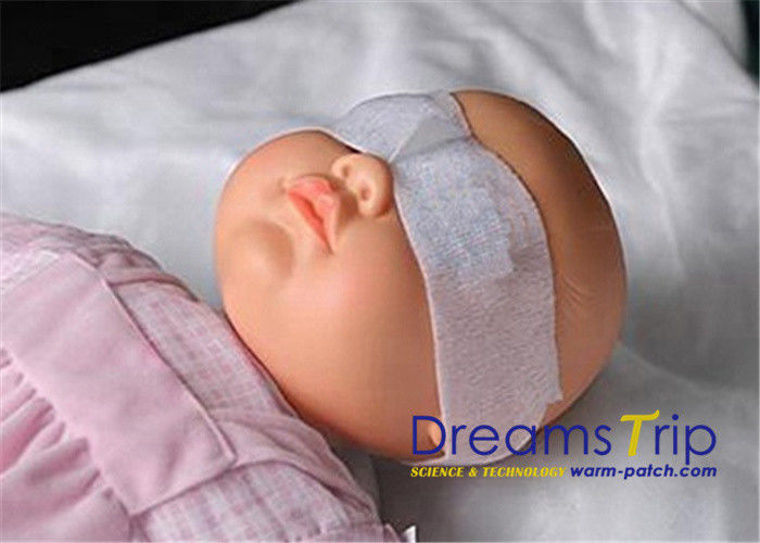 Sterilized White Neonatal Phototherapy Eye Mask For Baby ...