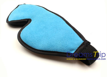 China Airplane blue Memory Foam 3D Night Eye Mask For Hotel Sleeping Use factory